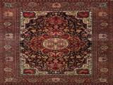 Fine Hand Knotted Isfahan Persian Carpet 1