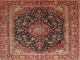 Hand Knotted Keshan Persian Carpet 1