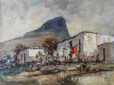 Christiaan Nice - Oil on board - 21x28cm SOLD at R20 000